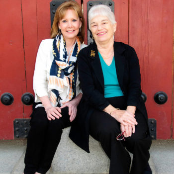 "Debbi Kent & Joan Suwalsky, authors of ""100 Thimbles in a Box"""