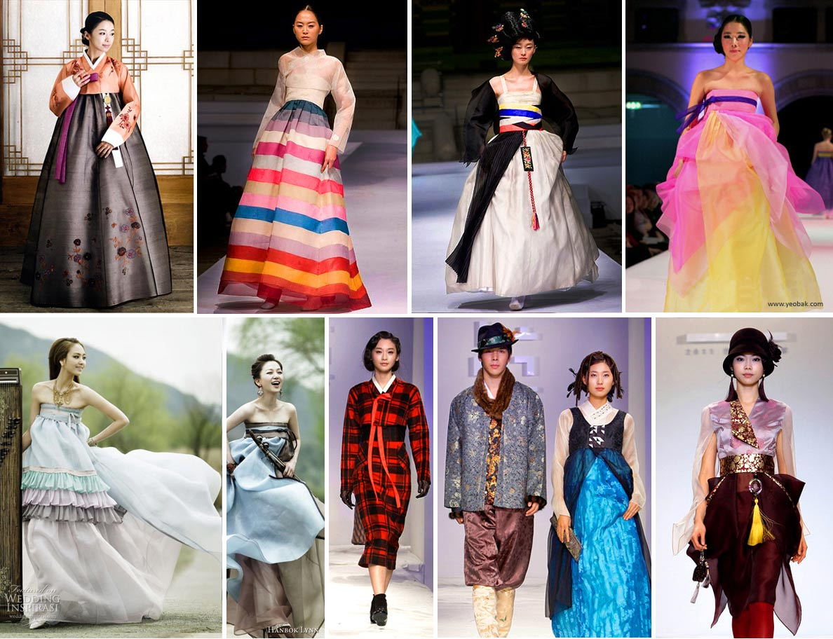 Contemporary Korean hanbok