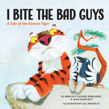 """I Bite the Bad Guys: A Tale of the Korean Cover"" book cover"